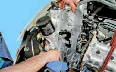 Замена цепи привода ГРМ VW Polo sedan 1.6
