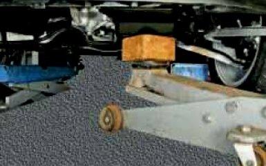 Замена опор двигателя VW Polo 5 sedan 1.6