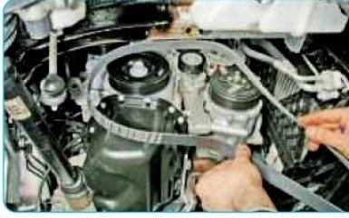 Замена сальников коленвала Volkswagen Polo 5