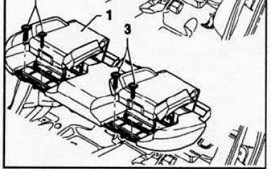 Замена заднего сиденья VW Passat B6