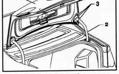 Замена крышки багажника, ее обшивки и замка на VW Passat B6