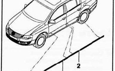 Замена молдингов VW Passat B6