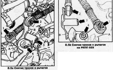 Замена коробки передач на VW Passat B6