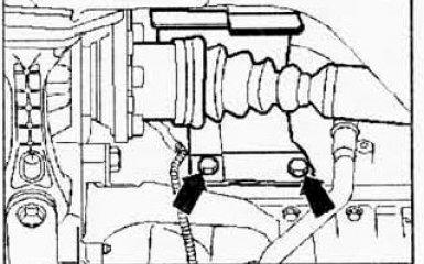 Замена приводных валов VW Passat B6