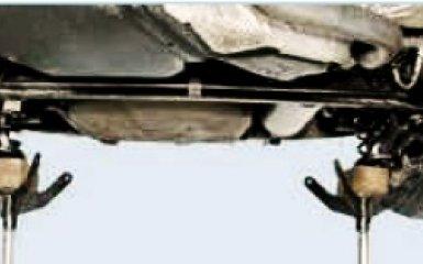 Замена задних пружин подвески Фольксваген Поло седан