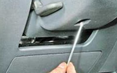 Замена кожуха рулевой колонки Volkswagen Polo sedan