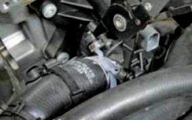 Замена термостата Фольксваген Поло 5 седан