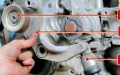 Замена ремня генератора и агрегатов Honda Civic 4D/5D 1.8 (R18A1), 2006 - 2012 г.в.