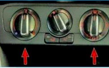 Снятие облицовки тоннеля пола и консоли приборной панели VW Polo sedan