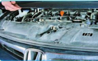 Замена переднего бампера Honda Civic 4D/5D 1.8 (R18A1)