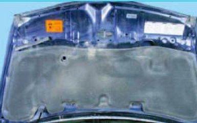 Замена капота и его замка Honda Civic 4D/5D 1.8 (R18A1)