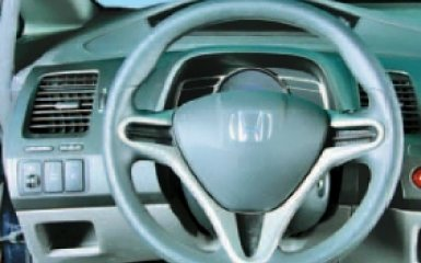 Замена руля Honda Civic 4D/5D 1.8 (R18A1)