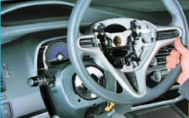 Замена подрулевых переключателей Honda Civic 4D/5D 1.8 (R18A1)