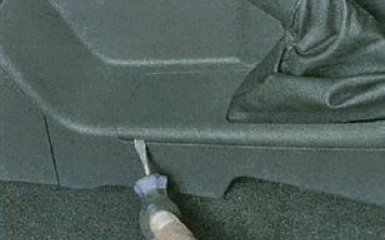Регулировка ручника Ford Focus 3