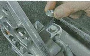 Замена рычага ручника Ford Focus 3