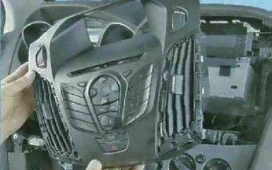 Замена выключателей панели приборов Ford Focus 3