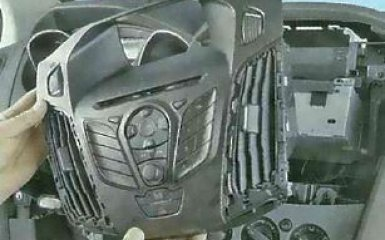 Штатная магнитола Ford Focus 3: снятие и замена