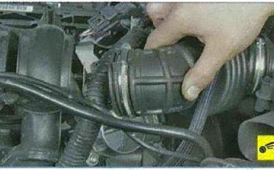 Замена прокладки впускного коллектора Ford Focus 3