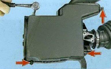 Замена воздушного фильтра Ford Focus 3