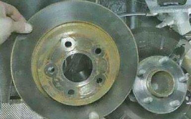Замена ступицы заднего колеса Ford Focus 3