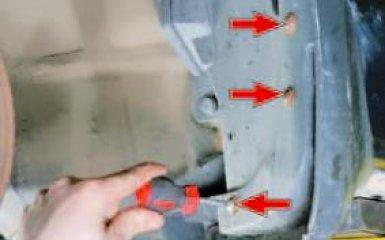 Снятие и установка подкрылков и брызговиков Honda Civic 4D/5D с 2006 г.в.
