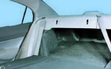 Снятие обшивки багажника Honda Civic 4D с 2006 г.в.