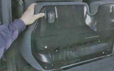 Снятие заднего сиденья Ford Focus 3