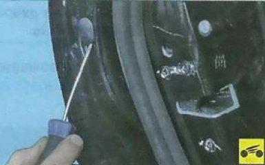 Замена наружной ручки задней двери Ford Focus 3