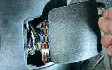 Предохранители и реле Mazda 6 (GH), 2007 - 2012 г.в.