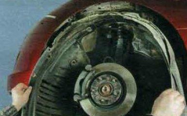 Замена противотуманной фары Mazda 6 (GH), 2007 - 2012 г.в.