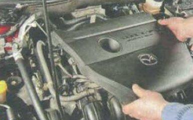 Замена катушек зажигания Mazda 6 (GH), 2007 - 2012 г.в.
