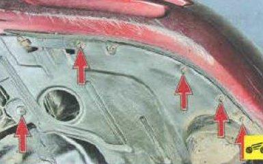 Снятие переднего бампера Mazda 6 (GH), 2007 - 2012 г.в.