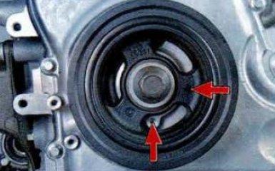 Установка поршня 1-го цилиндра в положение ВМТ на Mazda 6 (GH), 2007 - 2012 г.в.