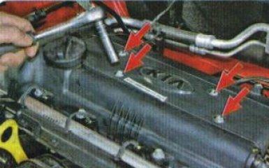 Замена катушек зажигания Kia Rio 3