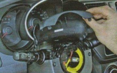 Щиток приборов Kia Rio 3: снятие и замена