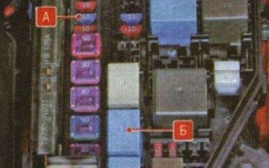 Сброс давления в системе питания Kia Rio 3