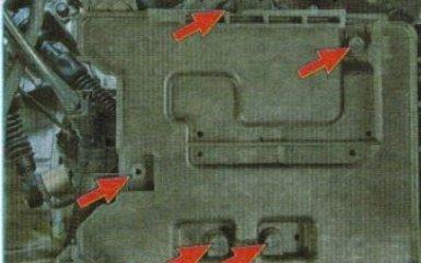Замена троса управления АКПП Kia Rio 3