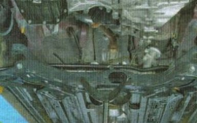 Замена штанги и подушек стабилизатора Kia Rio 3