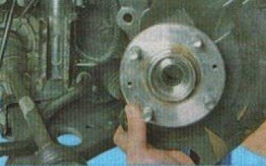 Замена подшипника передней ступицы Kia Rio 3