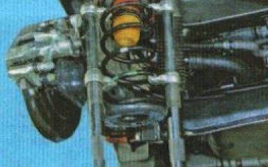 Замена задних пружин Kia Rio 3