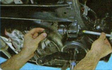 Замена задней балки Kia Rio 3