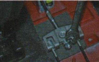 Замена тросов ручника Kia Rio 3