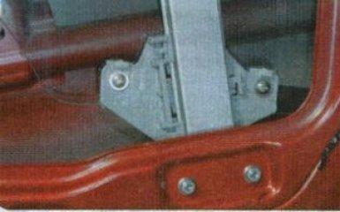 Стеклоподъемник передней двери Kia Rio 3: снятие и замена