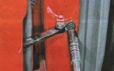 Задняя дверь Kia Rio 3: снятие и установка