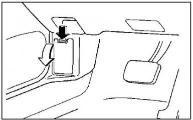 Предохранители Mazda Xedos 9 (Millenia), 1993 - 2003 г.в.
