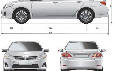 Технические характеристики Toyota Corolla (Е150), 2006 - 2013 г.в.