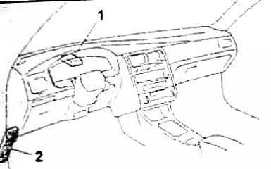 Предохранители и реле Toyota Carina E (T190), 1992 - 1998 г.в.