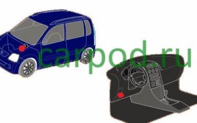 Предохранители и реле Suzuki Wagon, 1997 - 2008 г.в.