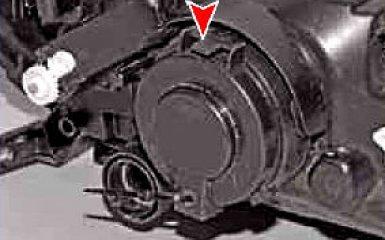 Замена ламп Lada Granta (ВАЗ 2190), 2011 - 2018 г.в.