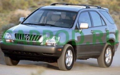 Предохранители и реле Lexus RX300 (XU10), 1998 - 2003 г.в.